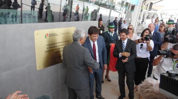 Inaugurada ampliação do aeroporto de Faro mas ainda há obras por concluir