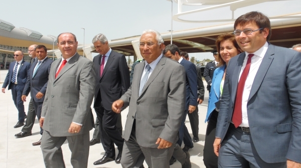 António Costa inaugura ampliação do aeroporto de Faro
