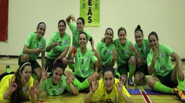 fd27f4e1d8 Futsal Feminino GDC Machados sagra-se tricampeão do Algarve