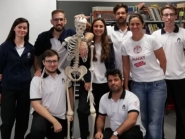 Estudantes do Instituto Piaget de Silves ensinam anatomia humana a alunos do 1ºCiclo