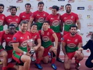 Elite do rugby em Vila Real de Santo António no Algarve Sevens