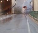 Chuva intensa alaga túnel de Olhão