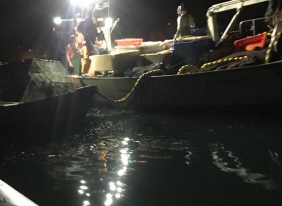Intercetada embarcação que se encontrava a pescar em zona proibida em Portimão