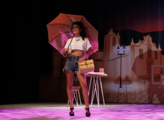Comércio são-brasense desfila on-line em inovador São Brás Fashion
