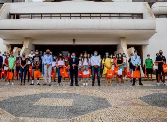 Município de Albufeira homenageou 45 jovens do concelho