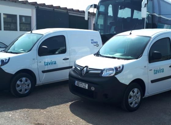 Autarquia de Tavira reforça frota com duas novas viaturas elétricas