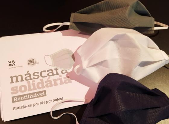 Covid.19:Câmara Municipal de Vila Real de Santo António volta a oferecer máscaras a toda a população