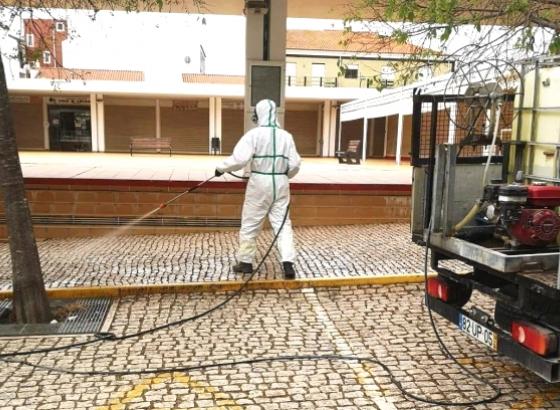 Covid.19:Município de Vila Real de Santo António retoma ações de desinfeção do espaço público já esta sexta-feira