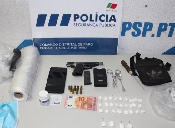 Jovem detido em Portimão por vários crimes