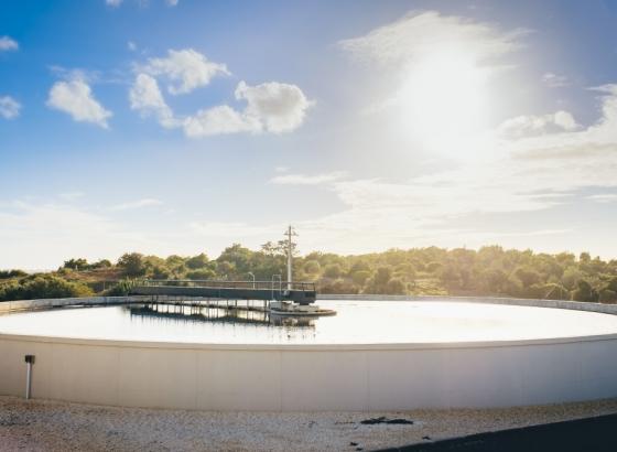 Águas do Algarve pretende executar central de secagem solar de lamas na ETAR de Vila Real de Santo António