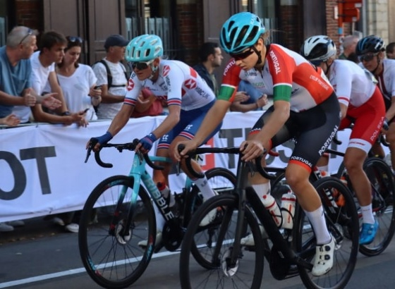 Algarvia Daniela Campos feliz por terminar Mundial de Estrada