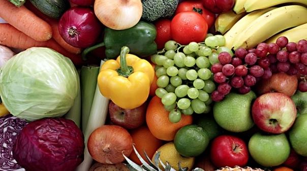 Pela sua saúde, coma mais fruta e legumes!