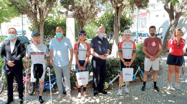 Pedalaram mais de 700 quilómetros para oferecer bicicletas ao Refúgio Aboim Ascensão