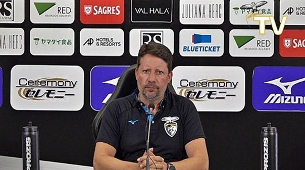 Treinador do Portimonense eleito o melhor da I Liga em junho