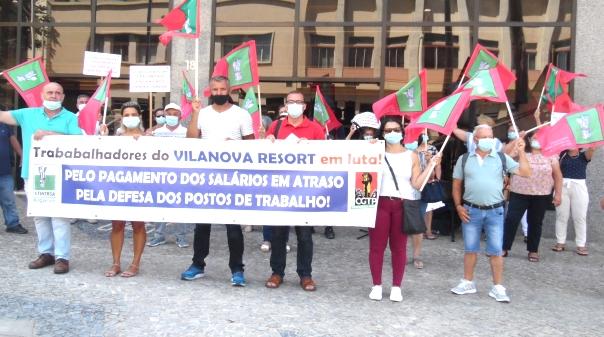 Trabalhadores do Vilanova Resort foram recebidos pelo Presidente do Turismo do Algarve