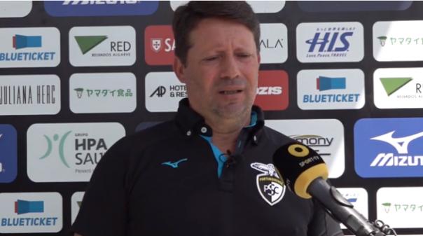 Técnico do Portimonense preocupado só com visita ao Paços e não com jogo do Aves