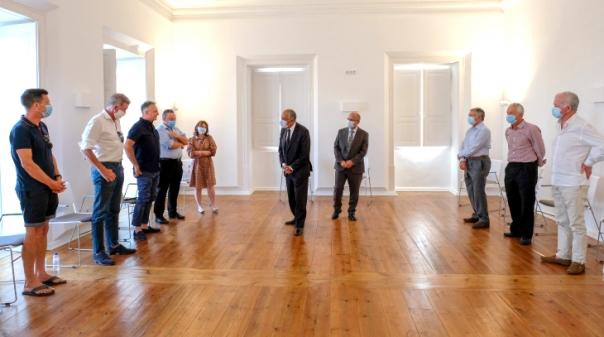 Presidente da República reuniu com britânicos em Loulé