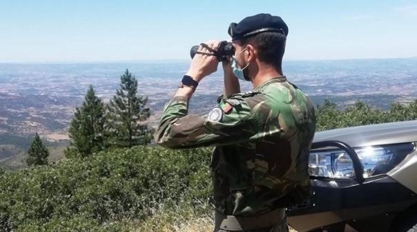 Incêndios:Militares atentos a zonas de risco