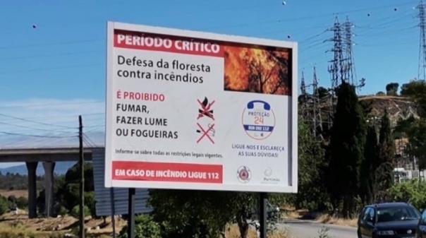 Portimão: Proibidos trabalhos com maquinaria nos espaços florestais do concelho