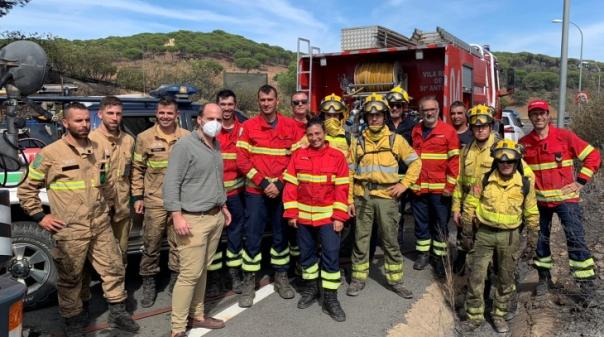 Eurocidade do Guadiana reconhece apoio dos Bombeiros de Vila Real de Stº António em Ayamonte