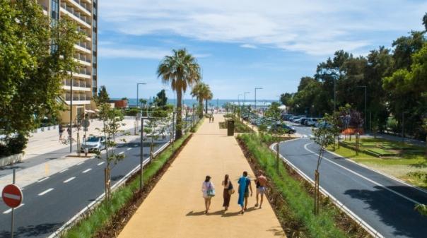Alameda da praia de Vilamoura com nova imagem e mais acessível