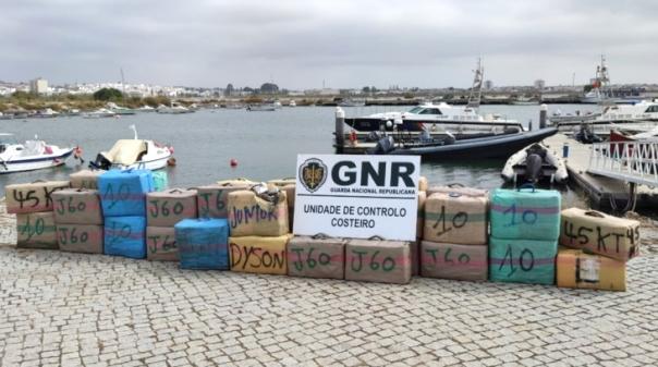 GNR prosseguiu buscas no Guadiana e detetou mais 31 fardos de haxixe