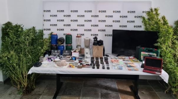 Algarve:100 militares da GNR desmantelaram «rede organizada» de tráfico de droga