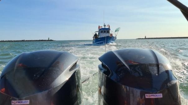 Portimão:Embarcação  marítimo-turística avariou com 12 pessoas a bordo