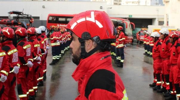 Mau tempo: Bombeiros de Portimão responderam a dezenas de ocorrências