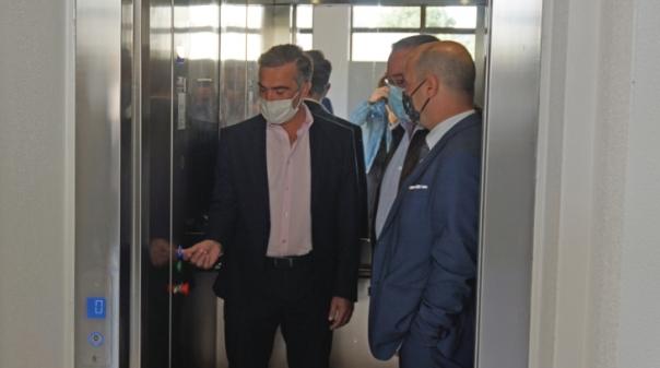 Escola de Olhão inaugurou ascensor que garante mobilidade para todos