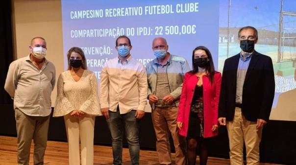 Campesino Recreativo Futebol Clube reforça apoio para obras de melhoramento
