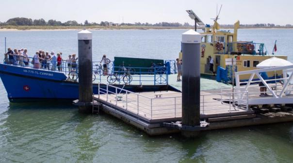 Covid-19: Ligação fluvial luso-espanhola pelo Guadiana interrompida na terça-feira