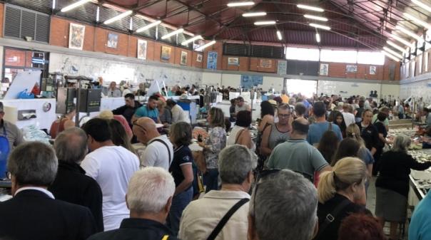 Covid-19: Protocolo visa melhorar vendas e retomar visitas organizadas ao mercado de Olhão