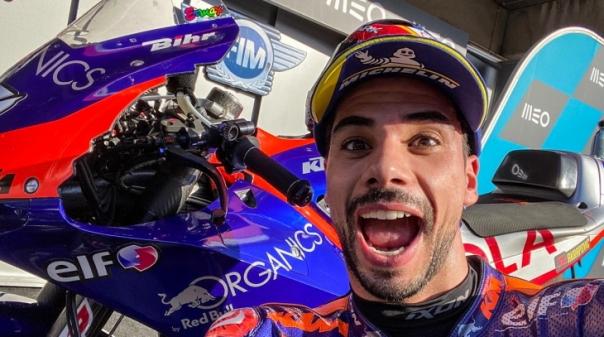 """MotoGP/Portugal: Miguel Oliveira diz que """"é com este tipo de corridas que sonhamos"""""""
