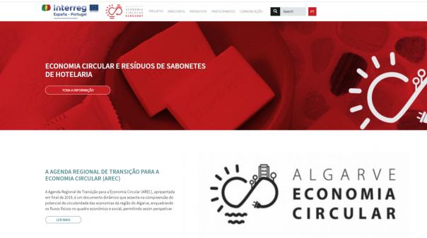 CCDR Algarve lança plataforma digital sobre Economia Circular e Resíduos de Sabonetes de Hotelaria