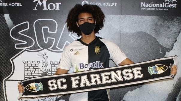 Benfica empresta Tomás Tavares ao Farense até final da época