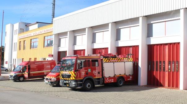 Covid-19 reduziu em 25% capacidade de resposta dos bombeiros de Albufeira