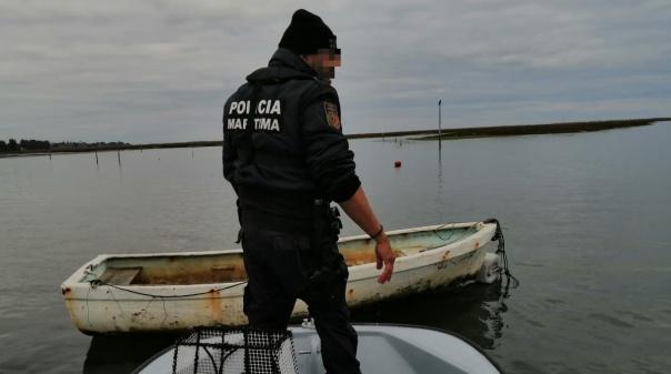 Polícia Marítima apreende 60 quilogramas de conquilha em Tavira