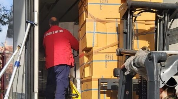 Covid.19: Mais material de proteção individual a caminho do Algarve