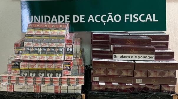 GNR apreende 20.000 cigarros de contrabando em Lagoa e Albufeira