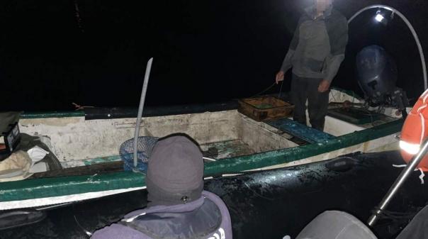 Polícia Marítima apreende arte de pesca profissional na Ria Formosa