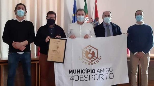 Município de Faro distinguido como «amigo do desporto»