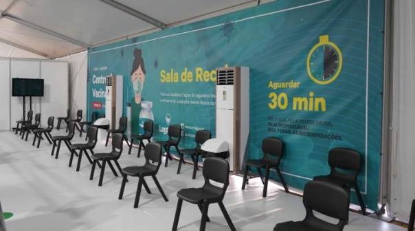 Covid.19: Centro de Vacinação de Lagoa apto para vacinar 40 utentes por hora