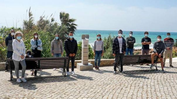 Lagos: Escultura homenageia jovem atleta falecido em 2019
