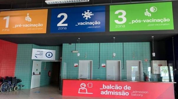 Covid.19: Centro de Vacinação Municipal de Faro permitirá vacinar 600 pessoas por dia