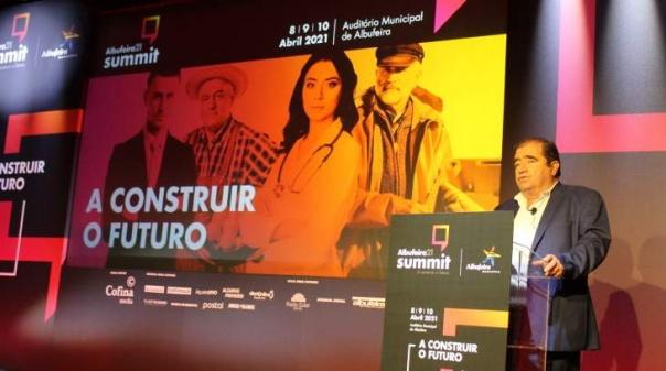 José Carlos Rolo «extasiado» com resultado do Albufeira 21 - Summit