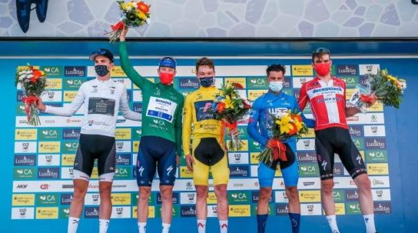 Volta ao Algarve: Kasper Asgreen ganha crono e Ethan Hayter reforça liderança