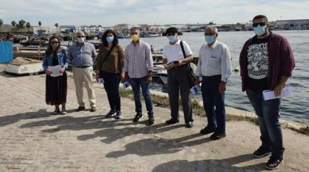 CDU promoveu ação para ouvir problemas dos pescadores, mariscadores e viveiristas de Olhão