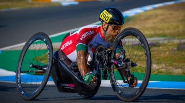 Algarvio Luís Costa 9º classificado no Campeonato do Mundo de Paraciclismo