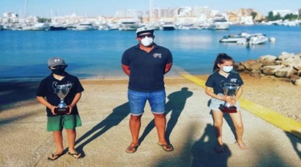 Jovens velejadores da Associação Naval do Guadiana sagram-se vice-campeões nacionais